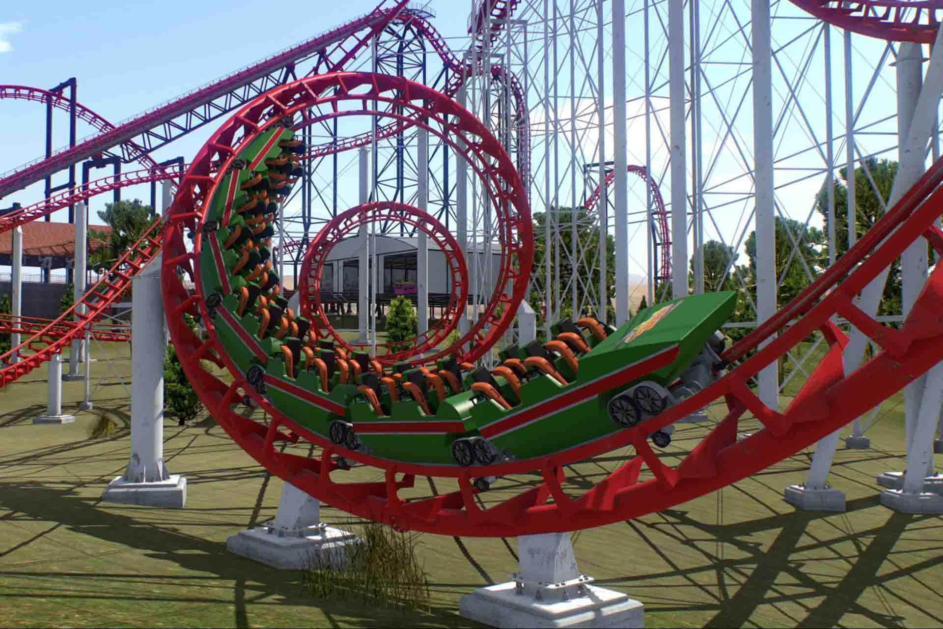 Symulator rollercoastera VR Cybermagia