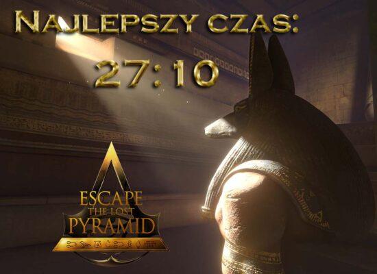 Najlepszy czas Escape Room